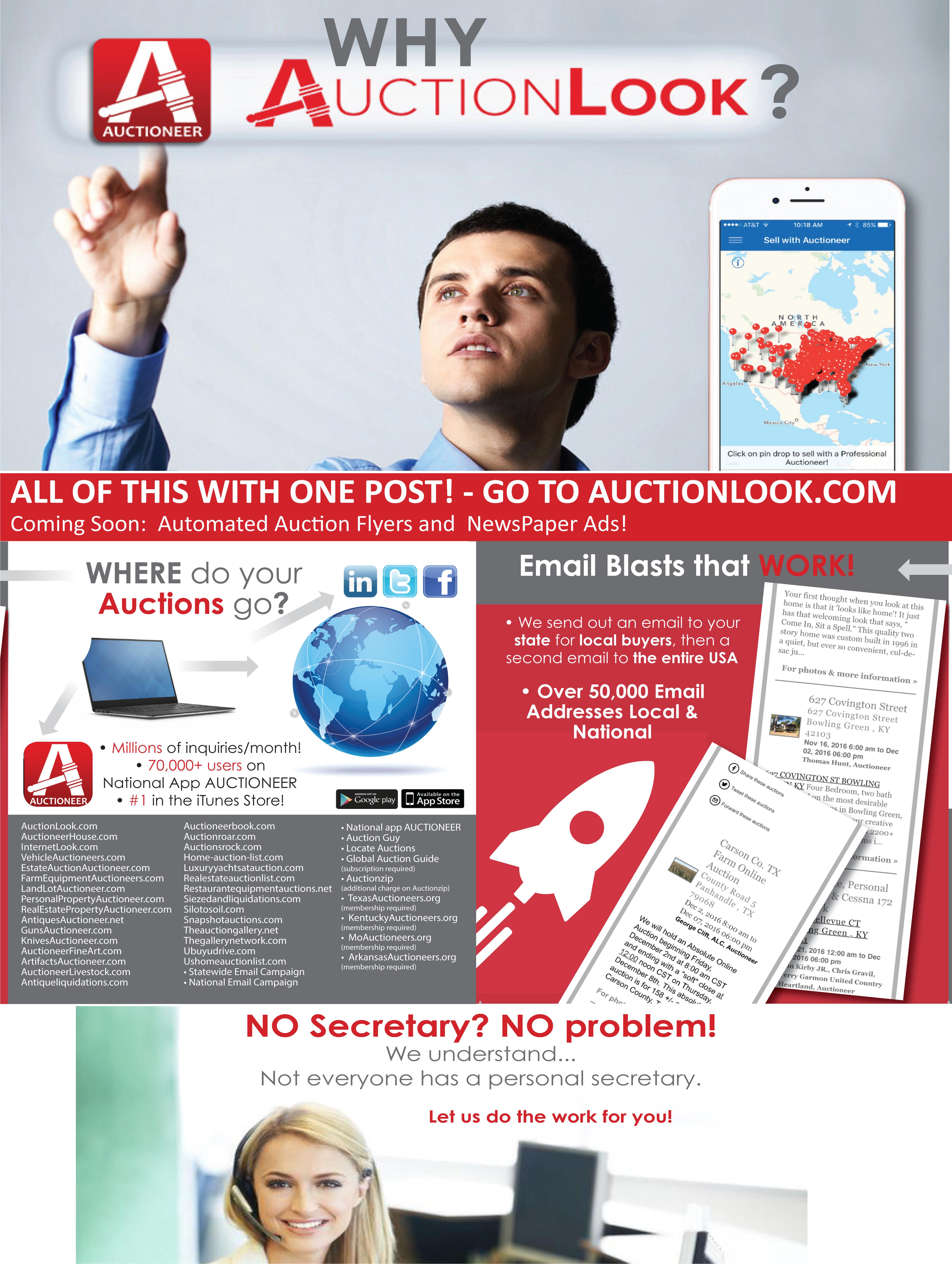 AuctionLook Subscription Platform